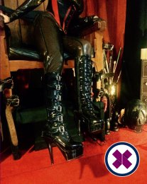 Meet Mistress Donna M in Cardiff right now!