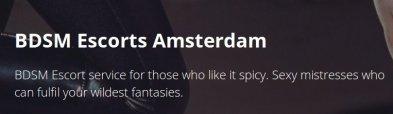 Amsterdam Hostess Agenturen | BDSM  Escorts Amsterdam
